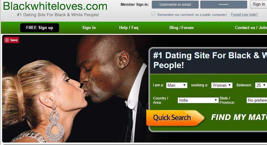 Black online dating service